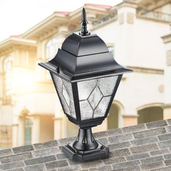 巴黎工藝歐式戶外柱燈 2