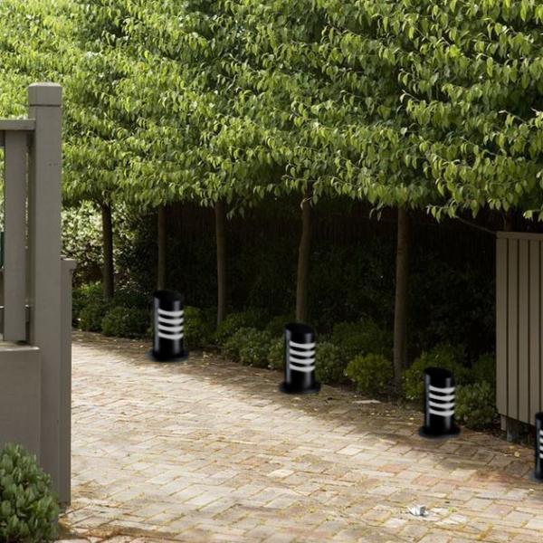 小圓柱簡約戶外道路柱燈 2