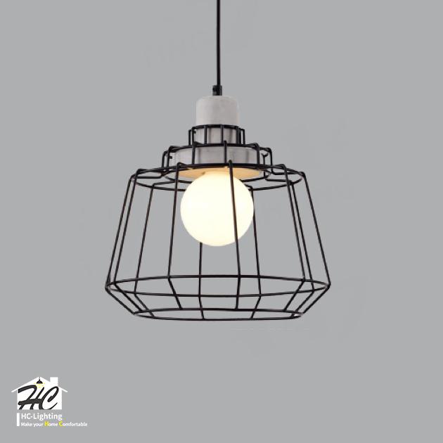純粹美學水泥吊燈 3
