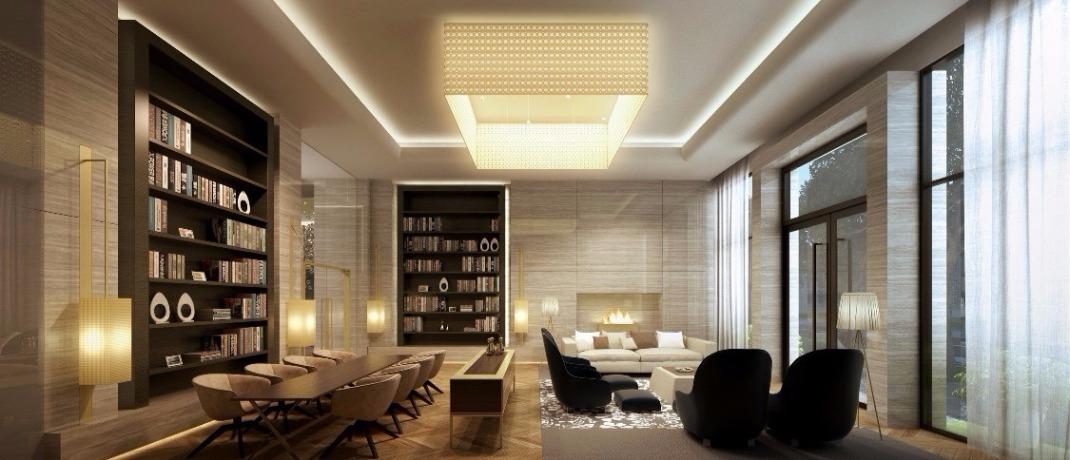 建設公司配合案例,燈飾光源規劃,設計師長期配合