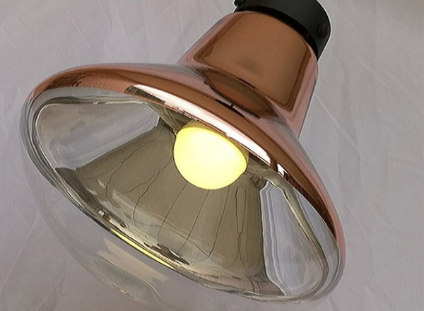 HC-0454C Kiriha  銅葉壁燈